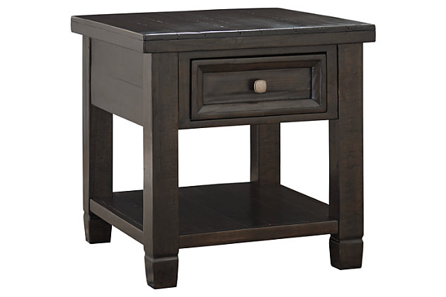 Townser End Table by Ashley HomeStore, Brown