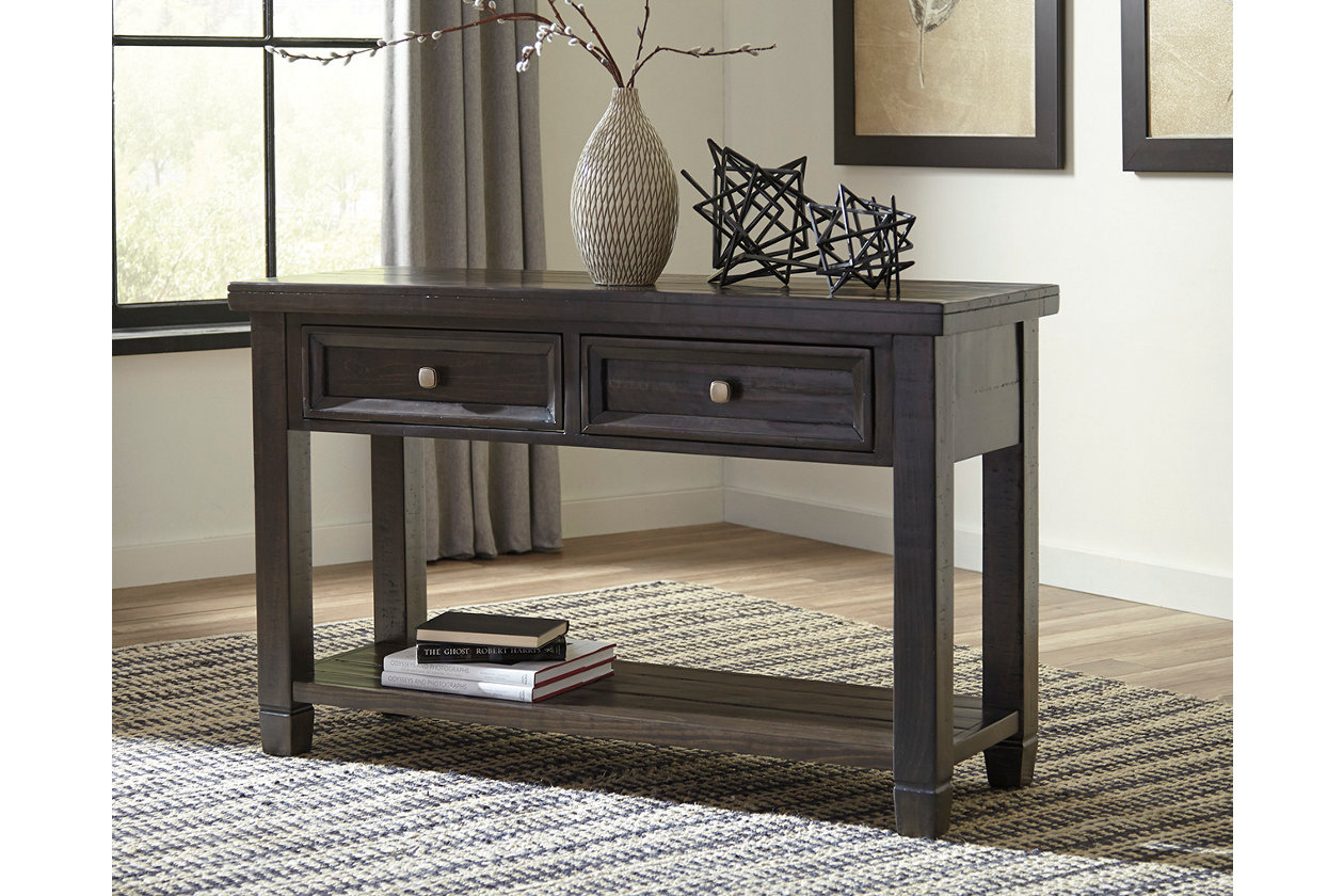 Townser sofaconsole table ashley furniture homestore images townser sofaconsole table geotapseo Image collections