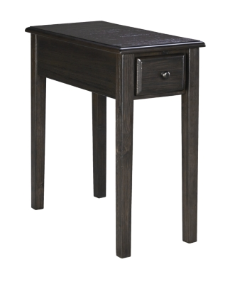 Solid Wood Chairside End Table Ashley Furniture HomeStore
