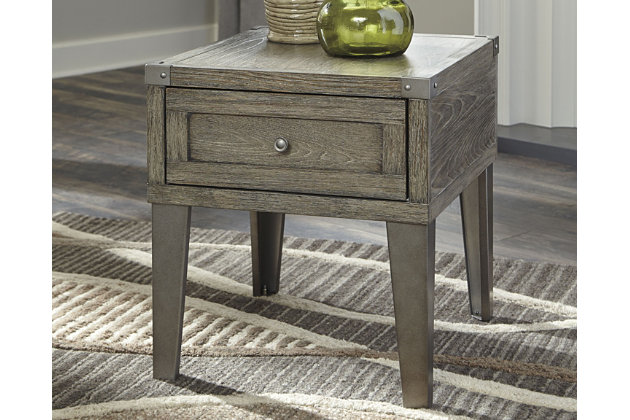 Chazney End Table, , large