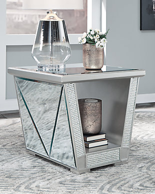 Fanmory End Table, , rollover