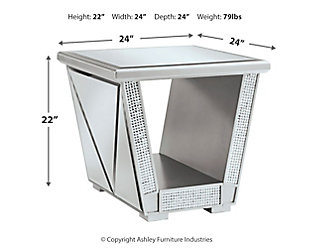 Fanmory End Table, , large