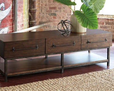 Starmore Coffee Table by Ashley HomeStore, Brown
