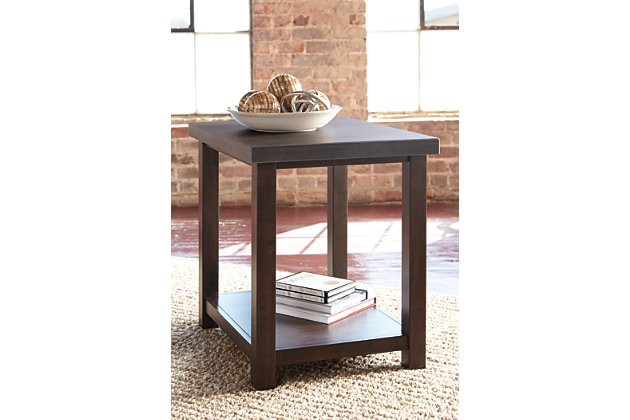 Starmore chairside end table ashley furniture homestore for Starmore ashley furniture bedroom