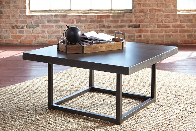Starmore Coffee Table by Ashley HomeStore, Gray & Brown