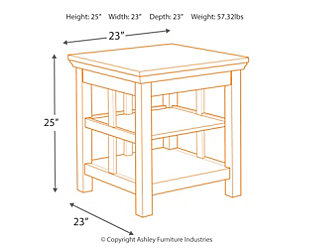 Flynnter End Table, , large