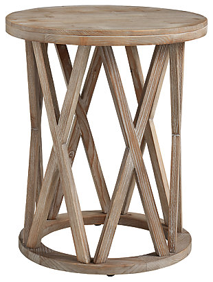 Glasslore End Table, , large