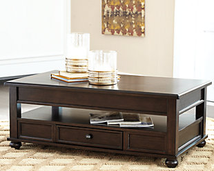 Barilanni Coffee Table with Lift Top, , rollover