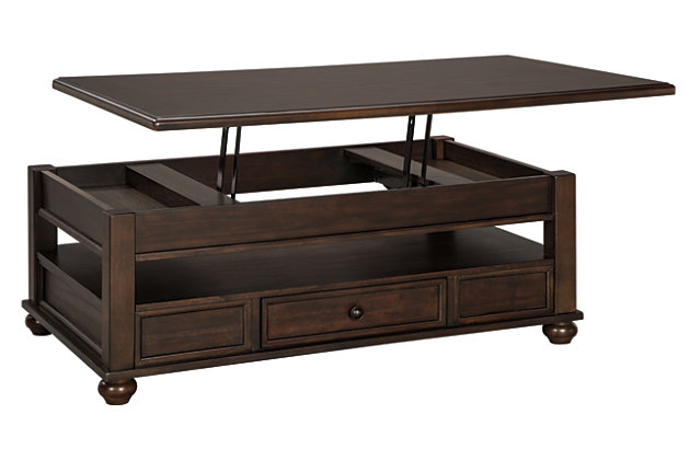 Barilanni Coffee Table with Lift Top, , large