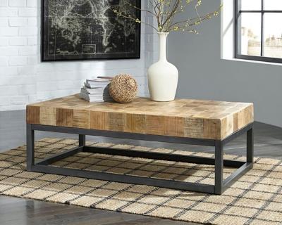 Prinico Coffee Table by Ashley HomeStore, Two-tone