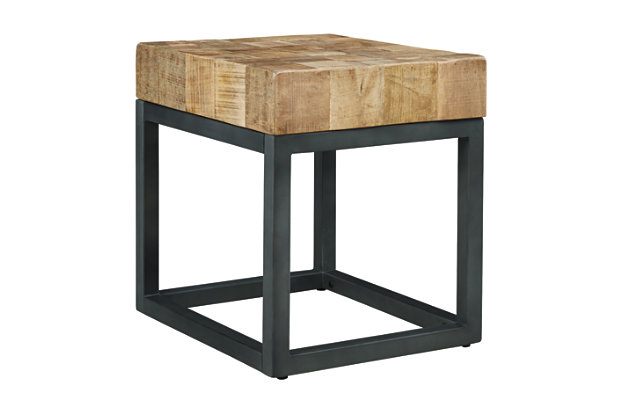 Prinico Chairside End Table, , large