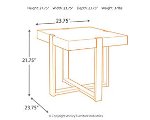 Paluxy End Table, , large