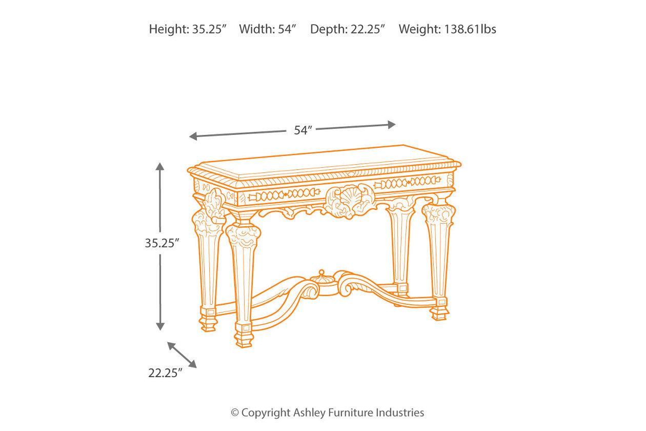 Prime Casa Mollino Sofa Console Table Ashley Furniture Homestore Inzonedesignstudio Interior Chair Design Inzonedesignstudiocom