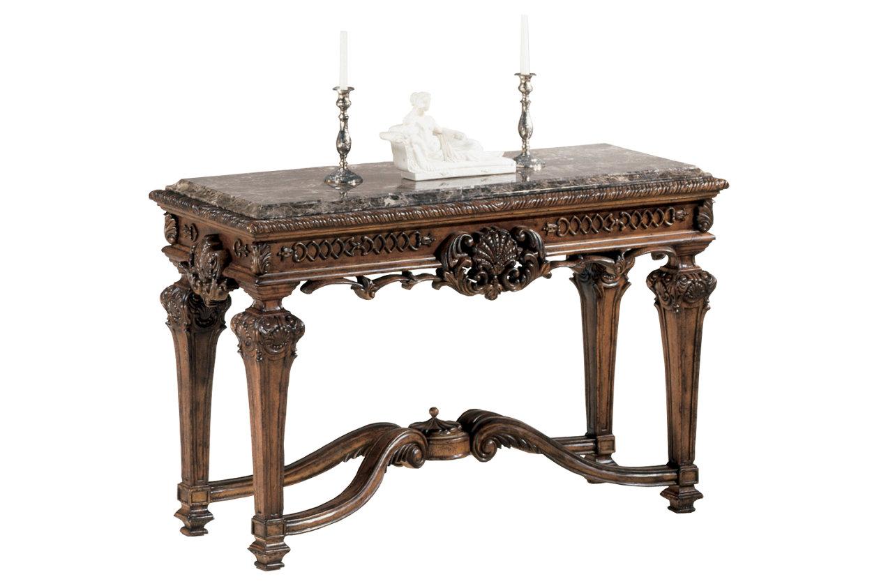 Mestler sofaconsole table ashley furniture homestore casa mollino sofaconsole table geotapseo Gallery