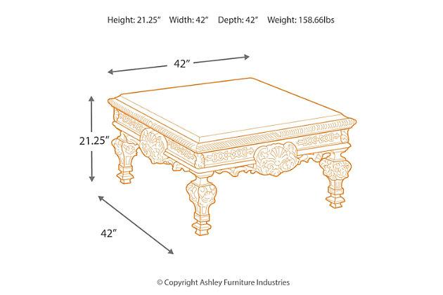 casa mollino coffee table | ashley furniture homestore