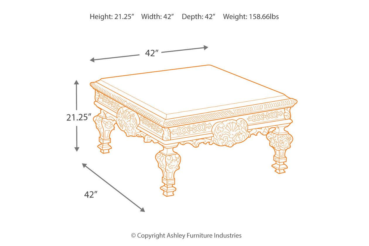 Outstanding Casa Mollino Coffee Table Ashley Furniture Homestore Frankydiablos Diy Chair Ideas Frankydiabloscom