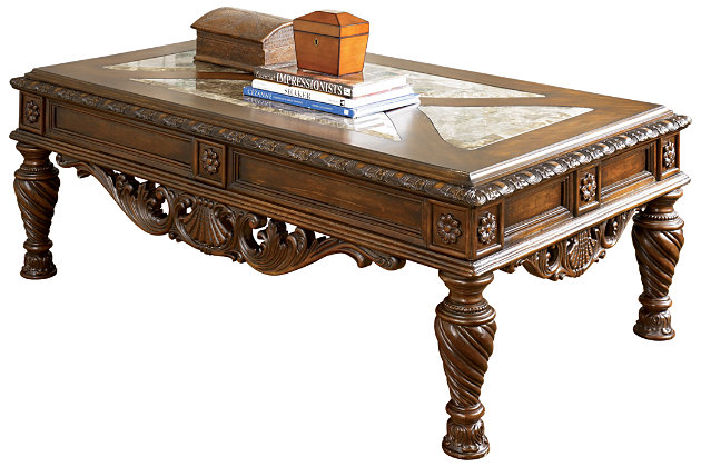 North Shore Coffee Table Large Ashley Furniture HomeStore. North Shore  Living Room ...