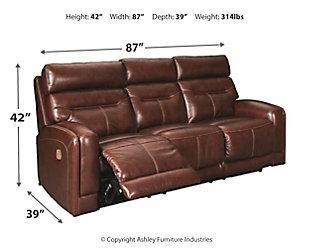 Sessom Power Reclining Sofa, , large
