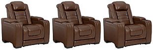 Backtrack 3-Piece Home Theater Seating, , large