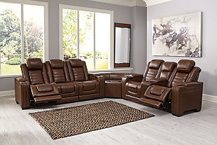 Backtrack 3-Piece Power Reclining Sectional, , rollover