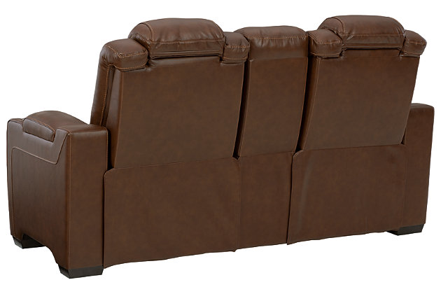 Backtrack Power Reclining Loveseat with Console, , large