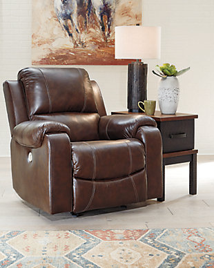 Rackingburg Power Recliner, Mahogany, rollover