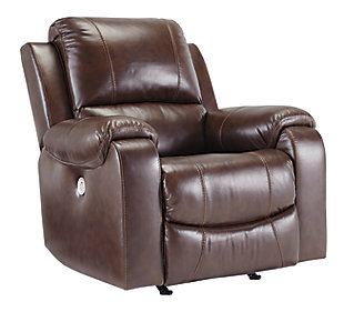 Rackingburg Power Recliner, Mahogany, large