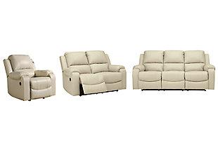 Rackingburg Sofa, Loveseat and Recliner, , large