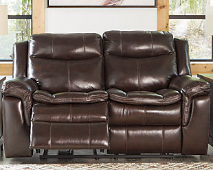 Lockesburg Power Reclining Loveseat, , rollover