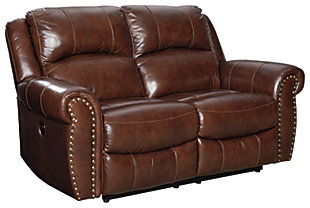 Bingen Power Reclining Loveseat, , large
