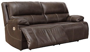 Ricmen Power Reclining Sofa, Walnut, large