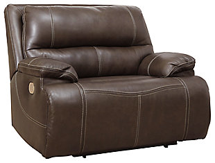 Ricmen Oversized Power Recliner, Walnut, large