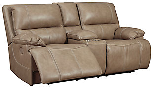 Ricmen Power Reclining Loveseat with Console, , large