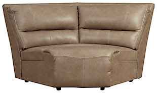 Ricmen 3-Piece Power Reclining Sectional, Putty, large