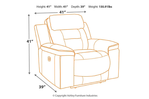 Pomellato Power Recliner, , large