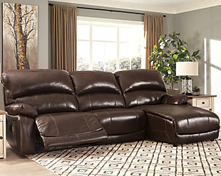 Hallstrung 3-Piece Power Reclining Sectional, , rollover