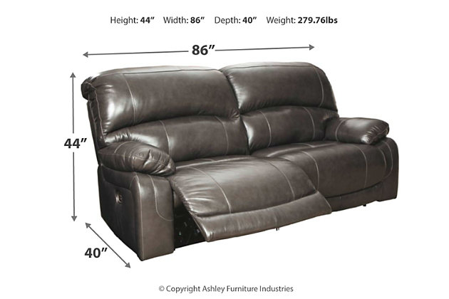 Hallstrung Power Reclining Sofa, , large