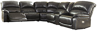 Hallstrung 6-Piece Power Reclining Sectional, , large