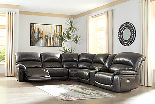 Hallstrung 6-Piece Power Reclining Sectional, , rollover