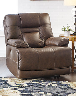 Wurstrow Power Recliner, Umber, large