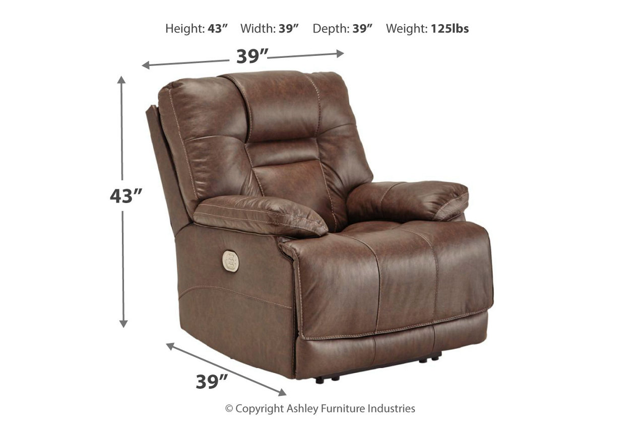Amazing Wurstrow Power Recliner Ashley Furniture Homestore Ocoug Best Dining Table And Chair Ideas Images Ocougorg