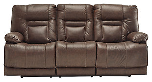 Wurstrow Power Reclining Sofa, , large