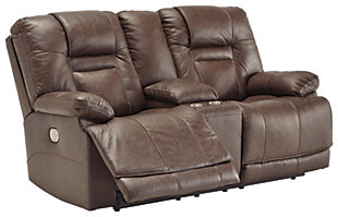 Wurstrow Power Reclining Loveseat, , large