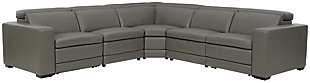 Texline 6-Piece Power Reclining Sectional, Gray, large