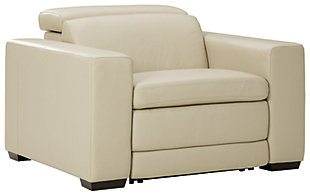 Texline Power Recliner, Sand, large