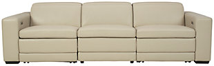 Texline 4-Piece Power Reclining Sofa, Sand, large