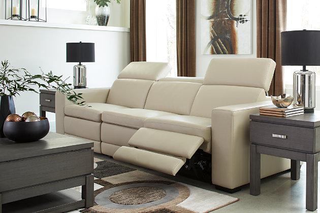 Texline 4-Piece Power Reclining Sofa, Sand, large