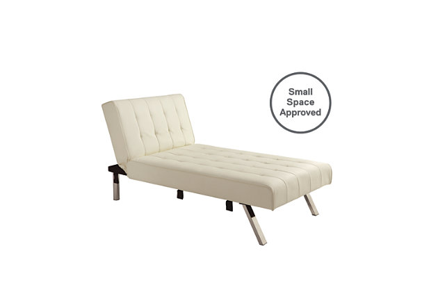 Elvia Chaise Lounger, Vanilla, large
