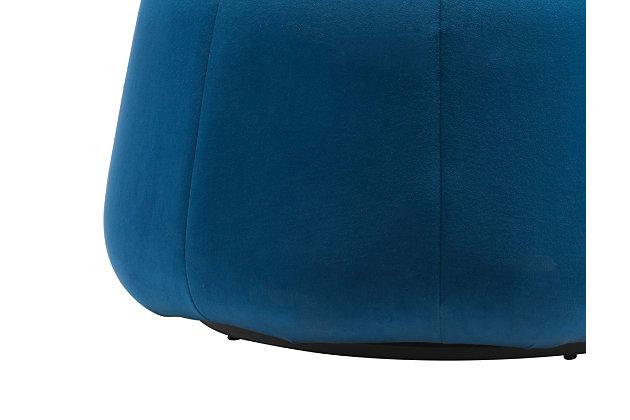Dulcet Ottoman, Blue, large