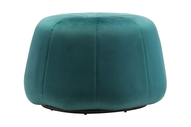 Dulcet Ottoman, Green, large